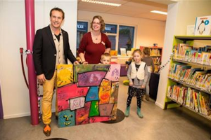 Make-over jeugdbibliotheek Voorschoten