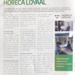 Artikel in het magazine van de Nederlandse Tafelronde over Horeca Loyaal 2021